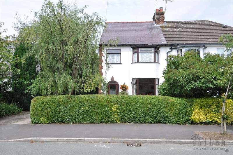 3 Bedrooms Semi Detached House for sale in Hillview Road, Irby, Wirral
