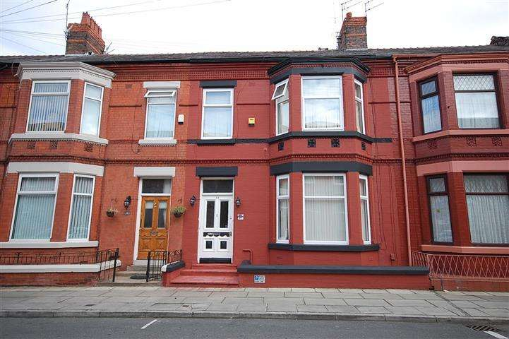 4 Bedrooms Terraced House for sale in Ampthill Road, Aigburth, Liverpool, L17