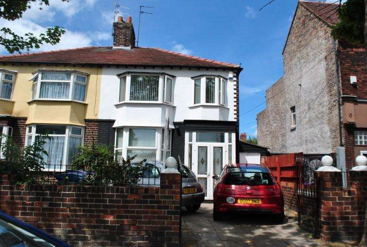 3 Bedrooms Terraced House for sale in Walton Hall Avenue, Liverpool, Merseyside, L11