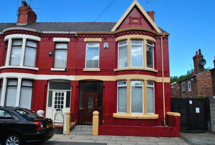 3 Bedrooms Terraced House for sale in Craigburn Road, Liverpool, Merseyside, L13