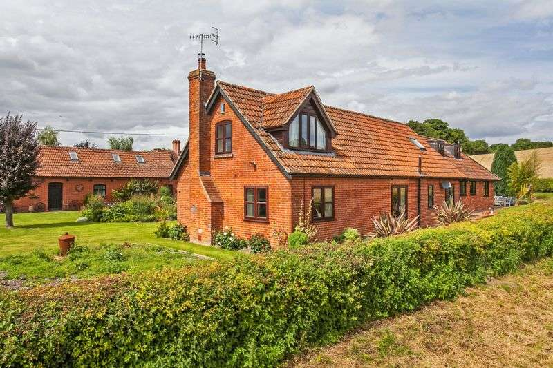3 Bedrooms Detached House for sale in Brook, King's Somborne
