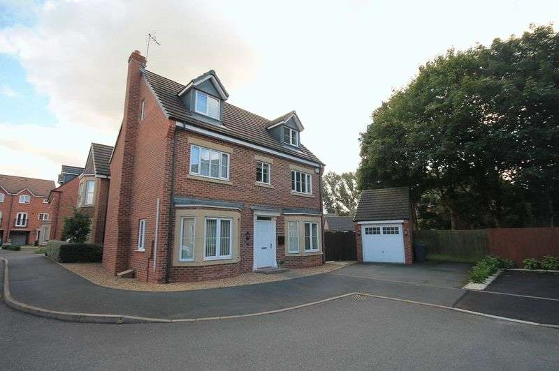 5 Bedrooms Detached House for sale in Goodall Close, Stone