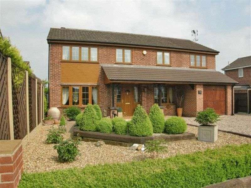 4 Bedrooms Detached House for sale in Bankside, Retford