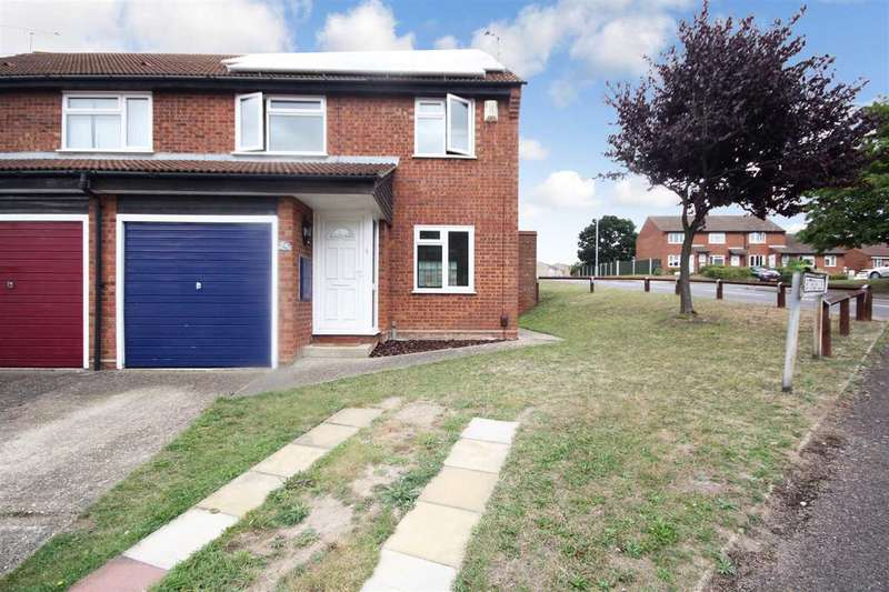 3 Bedrooms Semi Detached House for sale in Buttercup Close, Ipswich
