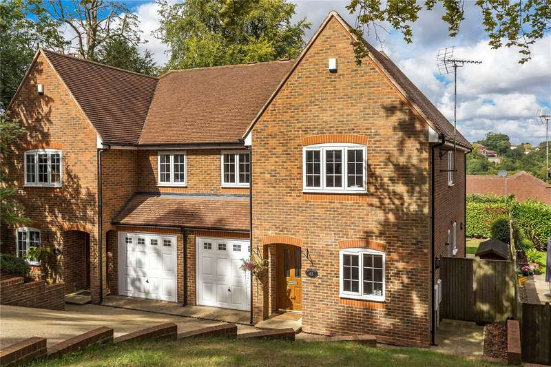 4 Bedrooms Semi Detached House for sale in Harestone Hill, Caterham, Surrey, CR3