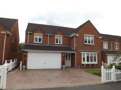 5 Bedrooms Detached House for sale in Hoveton Gardens, Nutgrove, St. Helens, Merseyside, WA9