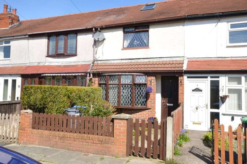 2 Bedrooms Terraced House for sale in Brookfield Avenue, Marton Moss