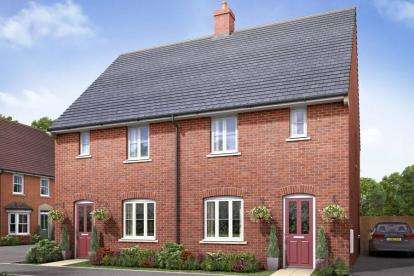 3 Bedrooms Semi Detached House for sale in Parklands, Greensand View, Woburn Sands, Milton Keynes