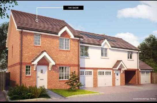 3 Bedrooms Semi Detached House for sale in Brookwood Farm, Bagshot Road, Knaphill, GU21