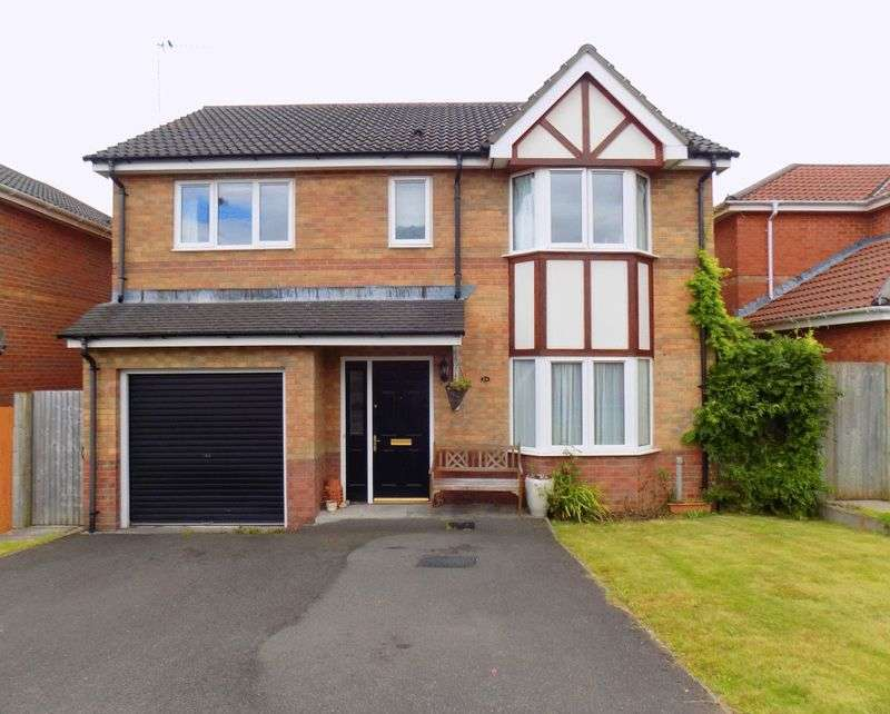 4 Bedrooms Detached House for sale in Authors Place, Llanharan