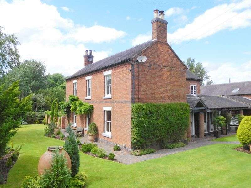 5 Bedrooms Detached House for sale in Woore Road, Crewe