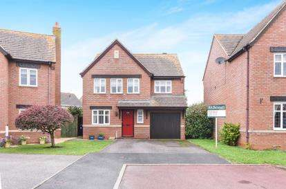 4 Bedrooms Detached House for sale in Churchward Close, Honeybourne, Evesham, Worcestershire