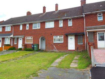 3 Bedrooms Terraced House for sale in Cresswell Crescent, Walsall, West Midlands