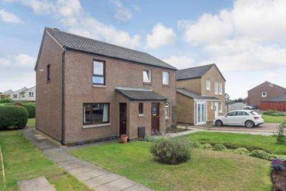2 Bedrooms Semi Detached House for sale in Cairnfore Avenue, Troon
