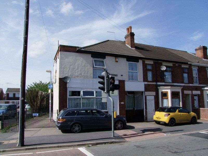 3 Bedrooms Semi Detached House for sale in Shobnall Street, Burton