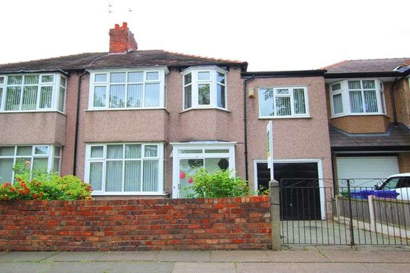 4 Bedrooms Semi Detached House for sale in Eaton Road, West Derby, Liverpool, L12