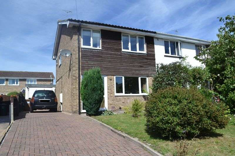 3 Bedrooms Semi Detached House for sale in Wellwood Road, Swadlincote
