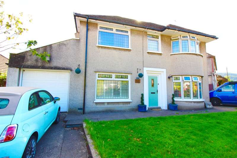 3 Bedrooms Detached House for sale in Danygraig Drive, Pontyclun, Rhondda Cynon Taf, CF72