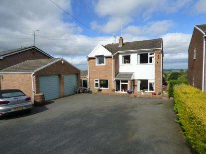 4 Bedrooms Detached House for sale in Ffordd Y Pentre, Nercwys, Mold, Flintshire, CH7