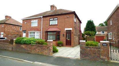 3 Bedrooms Semi Detached House for sale in Norton Grove, Thatto Heath, St. Helens, Merseyside, WA9