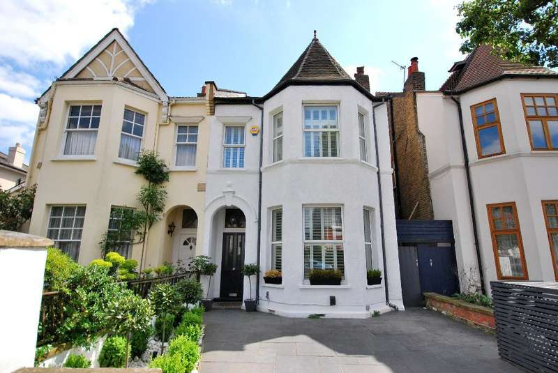 4 Bedrooms Semi Detached House for sale in Marlborough Road, Ealing, London, W5 5NY