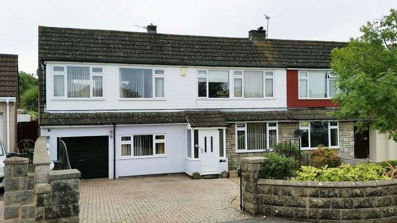 4 Bedrooms Semi Detached House for sale in St. Davids Close, Worlebury, Weston-super-Mare