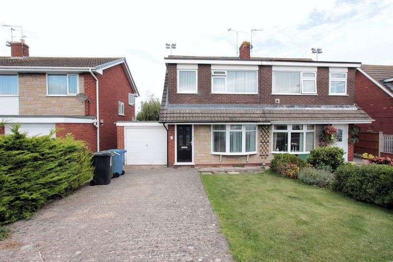 3 Bedrooms Semi Detached House for sale in Bastion Gardens, Prestatyn