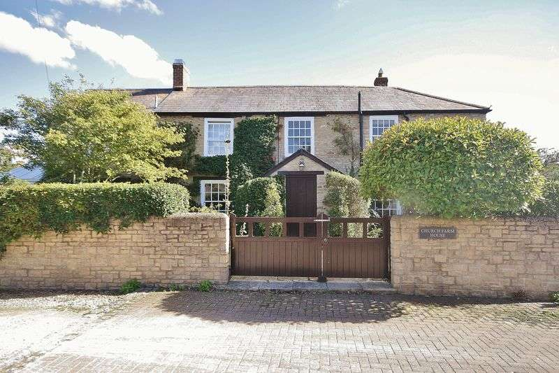 3 Bedrooms Semi Detached House for sale in ASTON, Church Farm House, Bull Street OX18 2DW