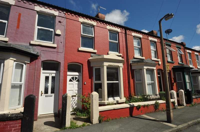 3 Bedrooms Terraced House for sale in Palatine Road, Wallasey