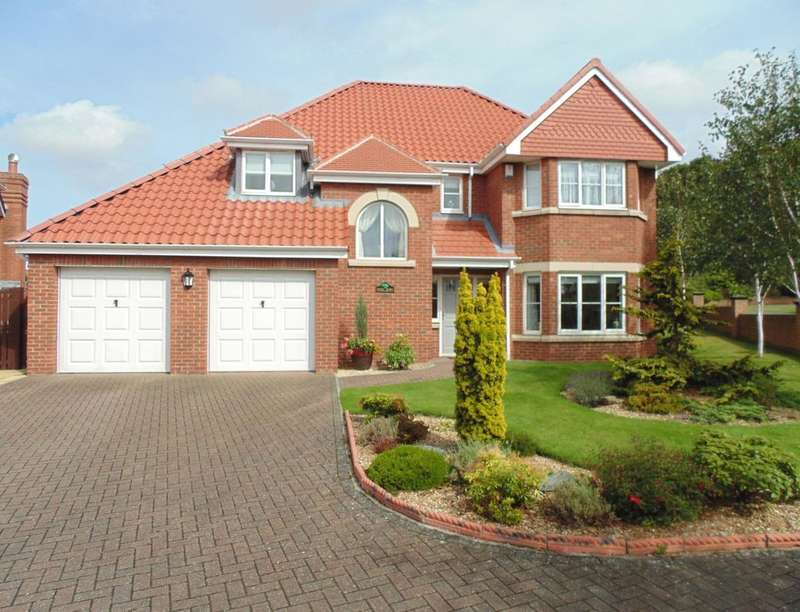 4 Bedrooms Detached House for sale in Monkton Rise, Guisborough, TS14