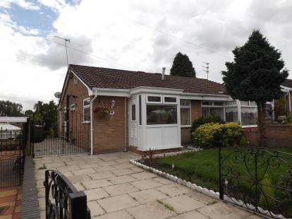 2 Bedrooms Bungalow for sale in Cambourne Avenue, St. Helens, Merseyside, WA11