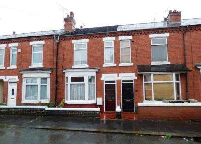 2 Bedrooms Terraced House for sale in Furnival Street, Crewe, Cheshire