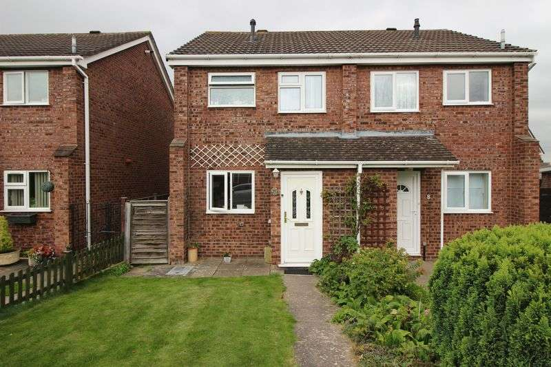 2 Bedrooms Semi Detached House for sale in Buttercup Way, Shrewsbury