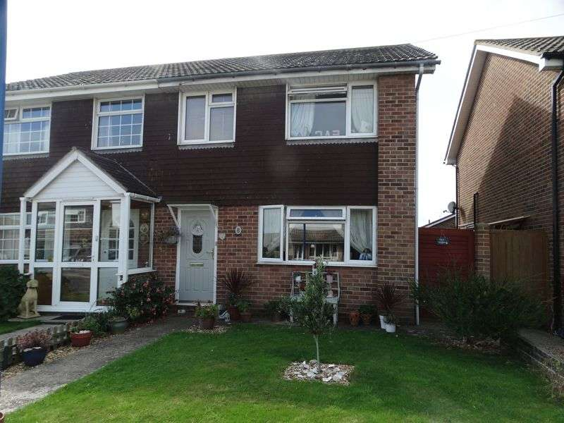 3 Bedrooms Semi Detached House for sale in Dennys Close, Selsey