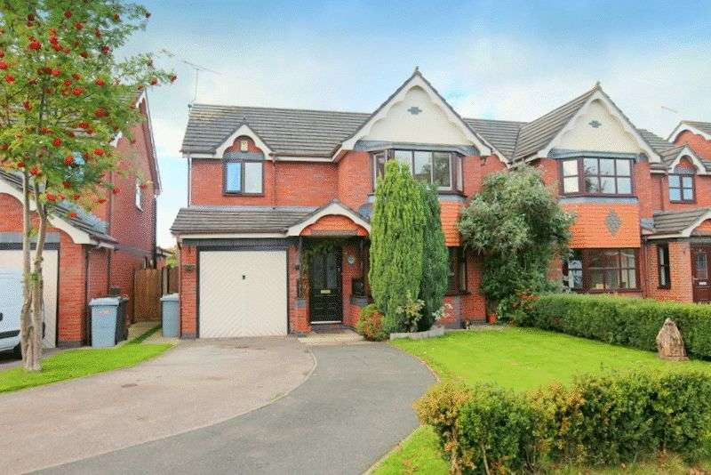 4 Bedrooms Detached House for sale in The Orchards, Shavington