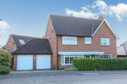 5 Bedrooms Detached House for sale in Wychwood Park, Weston, Crewe, Cheshire