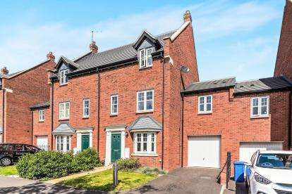 4 Bedrooms Link Detached House for sale in Legend Lane, St. Georges Park, Stafford, Staffordshire
