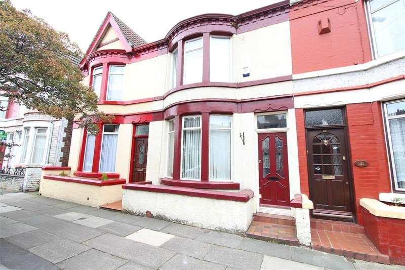 2 Bedrooms Terraced House for sale in Rathbone Road, Wavertree, Liverpool