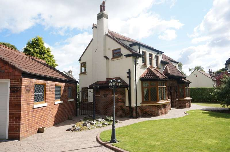 4 Bedrooms Detached House for sale in Manor Garth, Hellwood Lane, Scarcroft