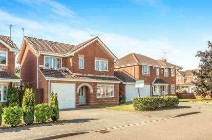 4 Bedrooms Detached House for sale in Calpurnia Avenue, Heathcote, Warwick, Warwickshire