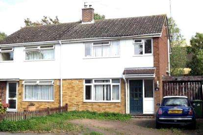 3 Bedrooms Semi Detached House for sale in Sandwich Road, St. Neots, Cambridgeshire