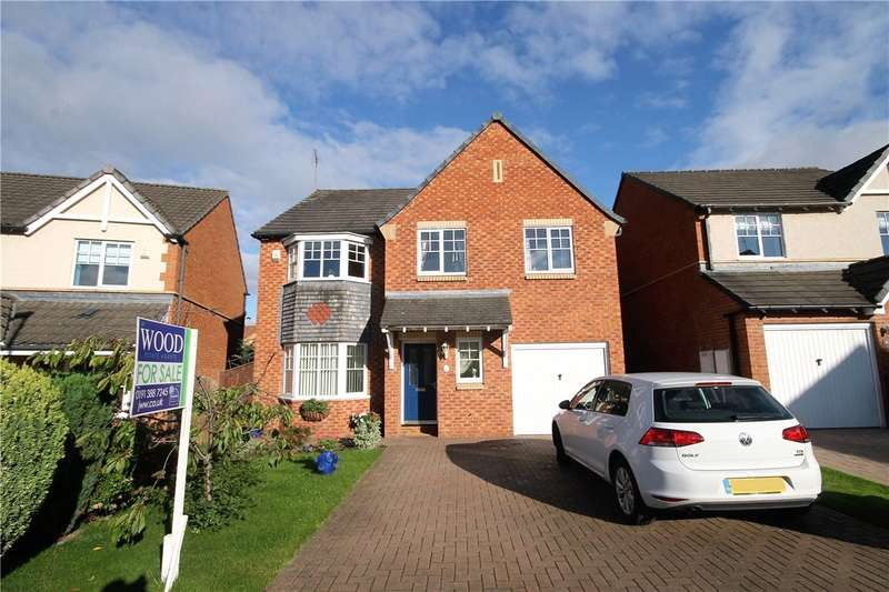 4 Bedrooms Detached House for sale in Norham Court, Woodstone Village, Houghton le Spring, DH4