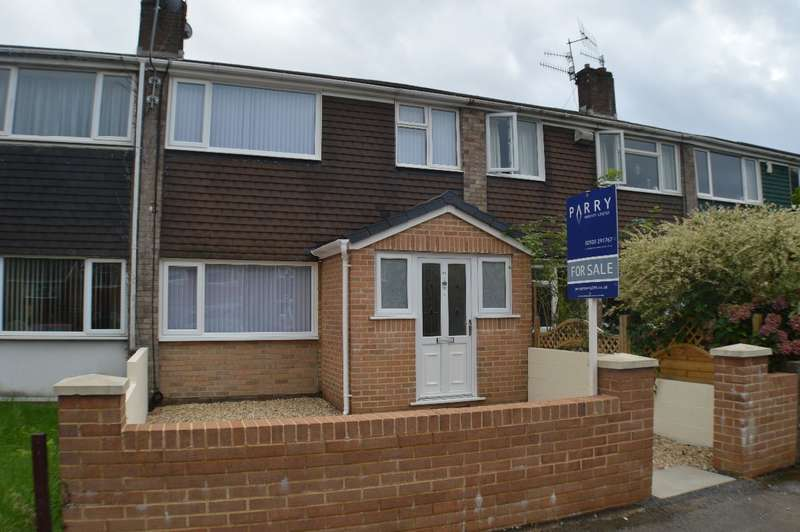 3 Bedrooms Terraced House for sale in Sir Stafford,Park Ave, Caerphilly
