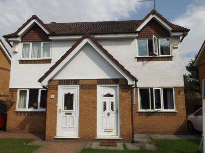 2 Bedrooms Semi Detached House for sale in Dearne Drive, Stretford, Manchester, Greater Manchester