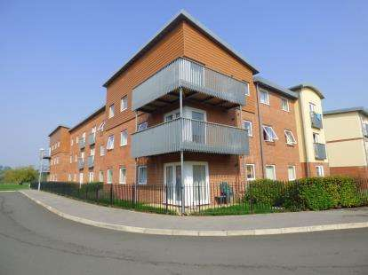 2 Bedrooms Flat for sale in Longhorn Avenue, Gloucester, Gloucestershire