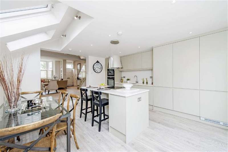 4 Bedrooms House for sale in Burnthwaite Road, Fulham, London