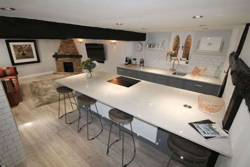 2 Bedrooms Semi Detached House for sale in High Street, Ripley