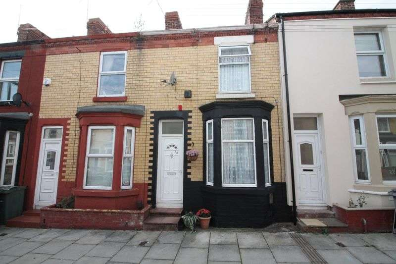 2 Bedrooms Terraced House for sale in Moorland Road, Tranmere
