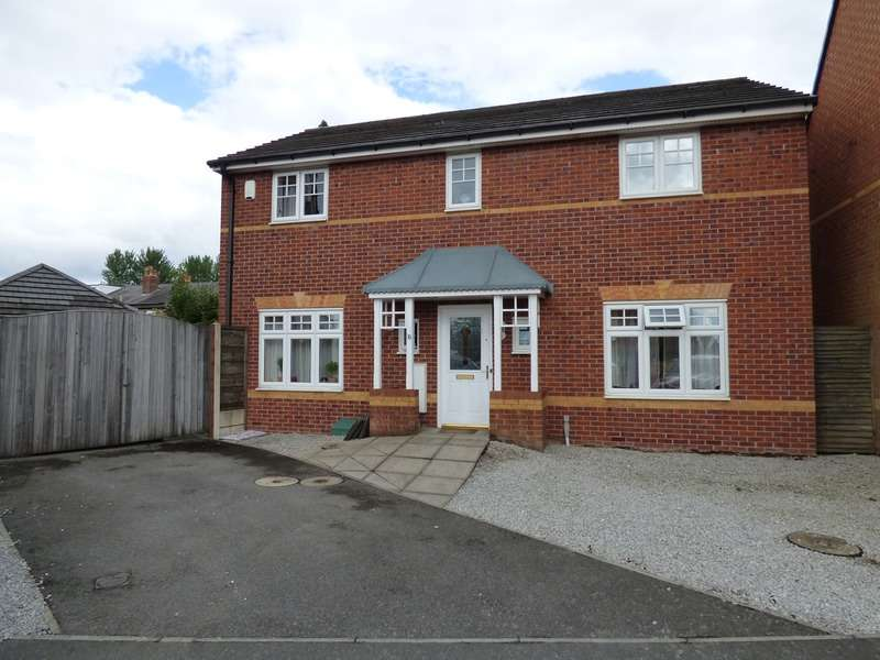 4 Bedrooms Detached House for sale in Abbeyfield Close, Stockport, Cheshire, SK3