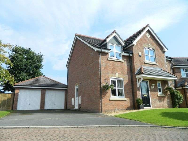 4 Bedrooms Detached House for sale in Firth Close, Sandbach